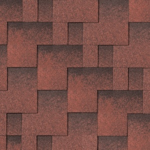 Iko Skyline Tile red ultra